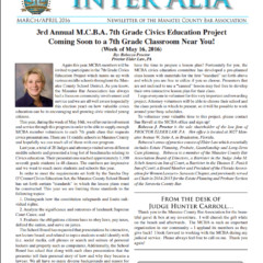 Inter Alia – March/April 2016
