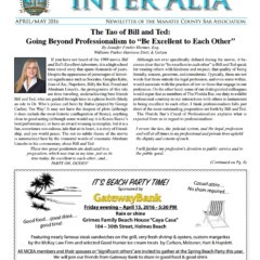 Inter Alia – April/May 2016