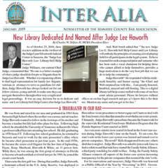 Inter Alia January 2019