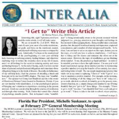 Inter Alia February 2019