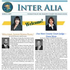 Inter Alia March 2019