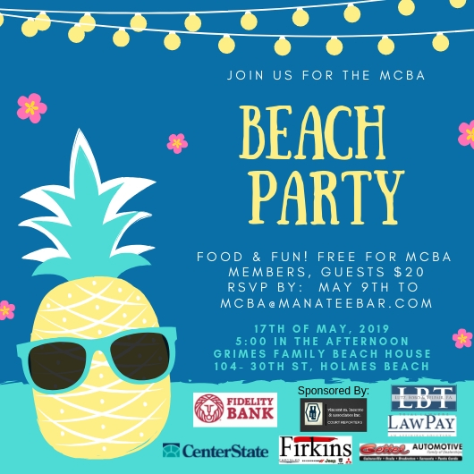 MCBA | Annual Beach Party!!!Annual Beach Party!!!
