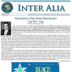 Inter Alia - April 2019