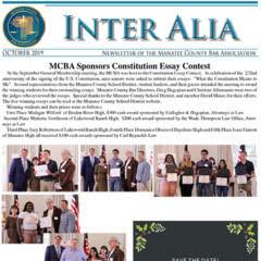 Inter Alia October 2019